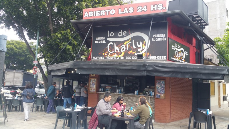 Parrilla Lo de Charly